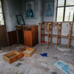 Illegal immigrants attack another church on Lesvos 14
