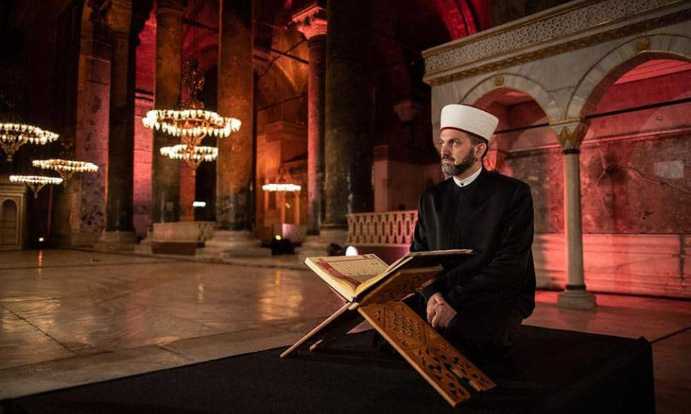 Greek MFA: Turkey offends the international community with Islamic prayers in Hagia Sophia 1