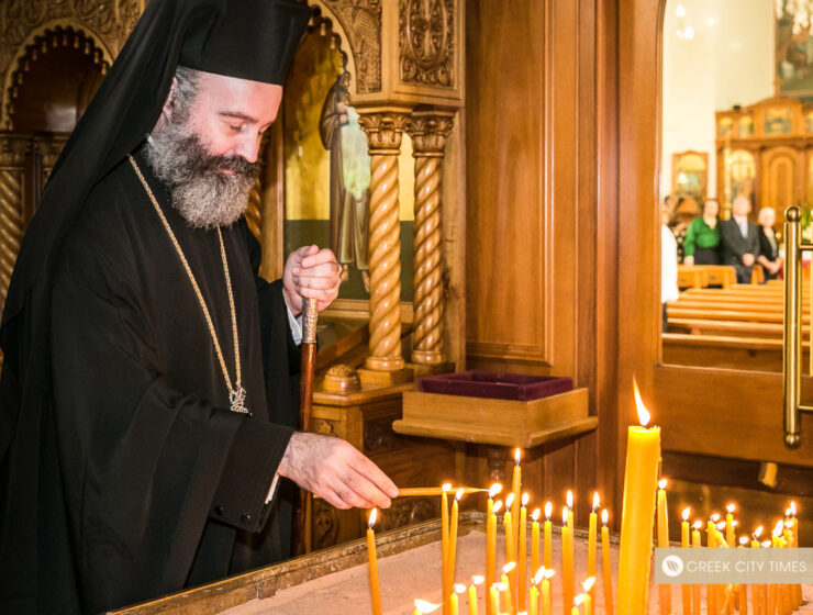 His Eminence Archbishop Makarios, Primate of the Greek Orthodox Church of Australia