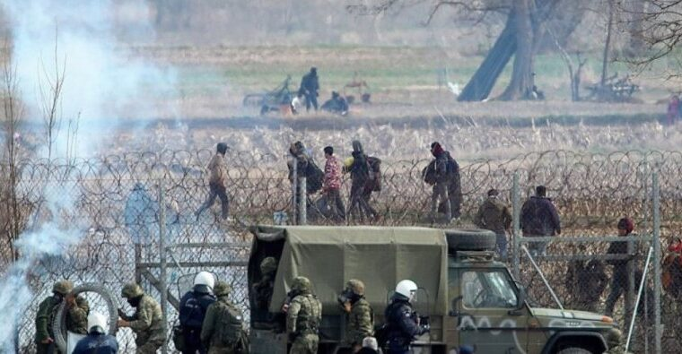 MAJOR: Turkish soldiers shoot at Greek border protectors AGAIN 1