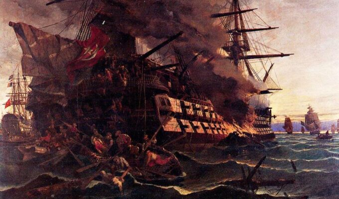On this day in 1821, Papanikolis broke the Ottoman's morale at Lesvos 1