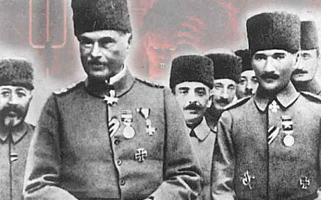 It was a German Colonel who helped the Turks plan the Greek Genocide 6