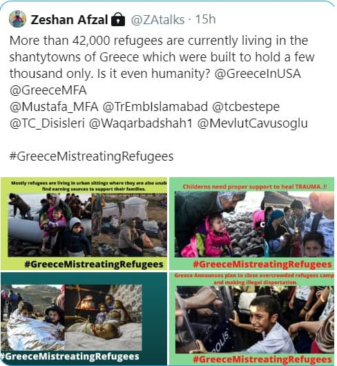 Pakistani NGO with Turkish connections, exposed spreading fake news 14