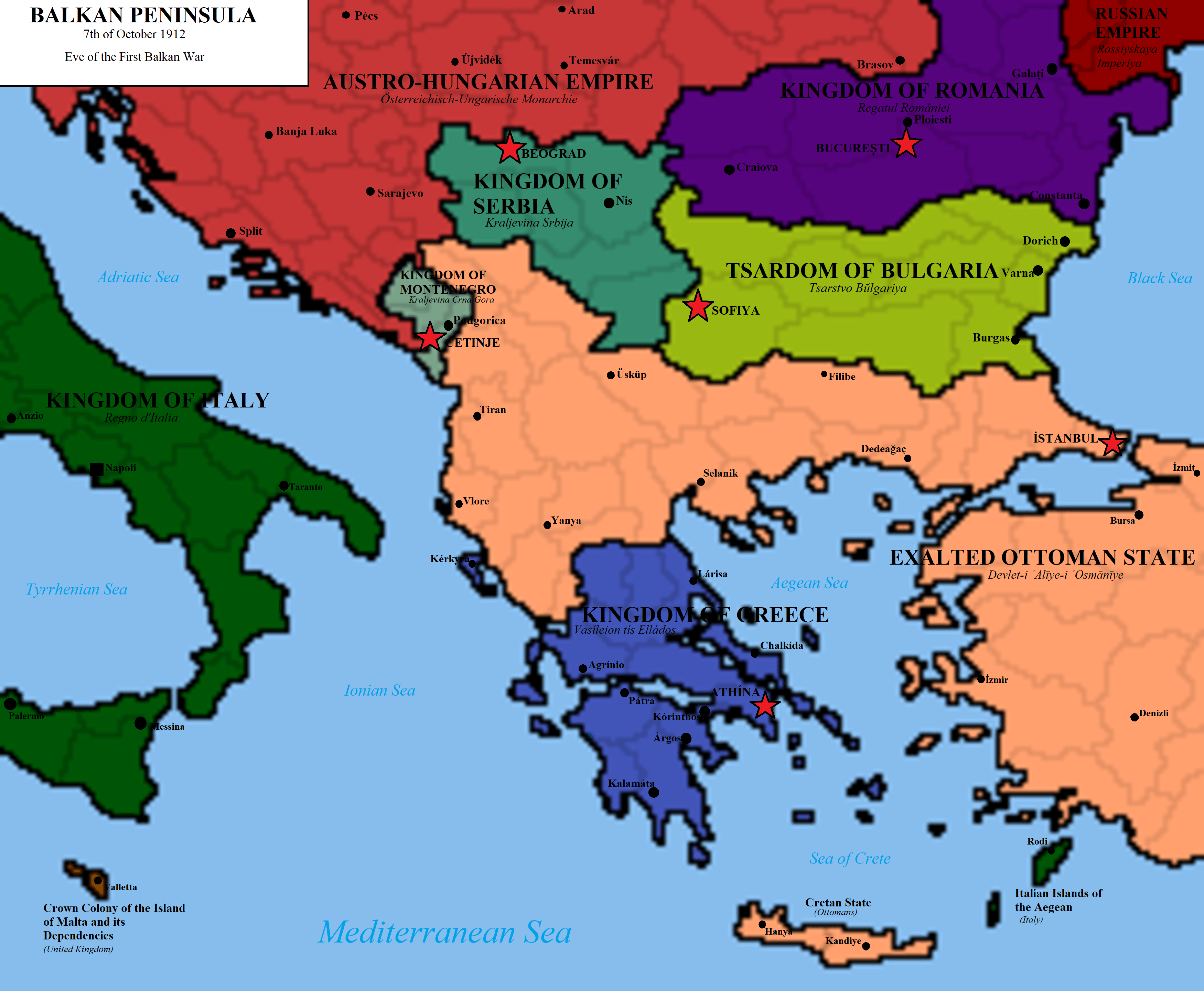 May 30, 1913: Southern Epirus, Macedonia and Aegean islands unify with Greece from Ottoman Empire 6
