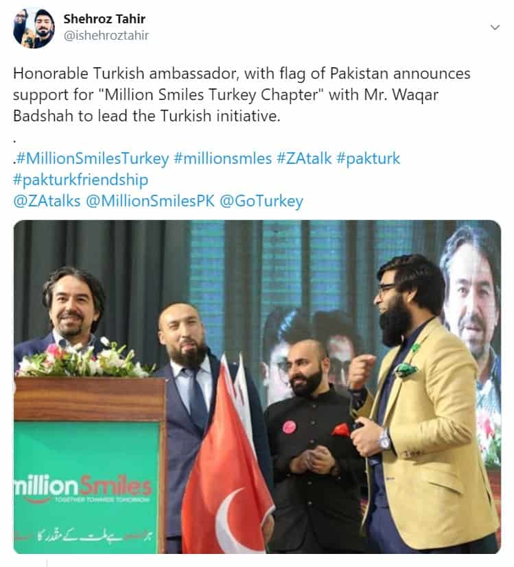 Pakistani NGO with Turkish connections, exposed spreading fake news 19