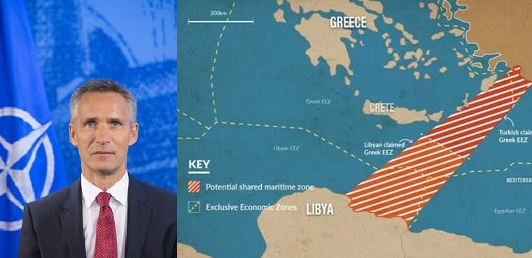 NATO head announces support for Libya's Muslim Brotherhood who aim to steal Greece's maritime space (VIDEO) 4