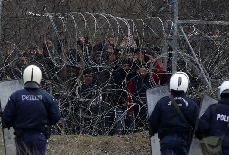 EU says it is expecting Turkey to flood Greece's border with illegal immigrants again 17
