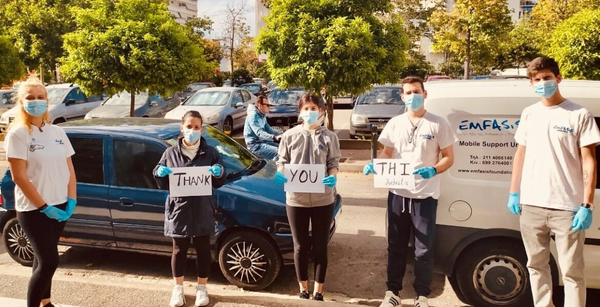 Emfasis Foundation receives grant from THI Australia to help the homeless during COVID-19 1