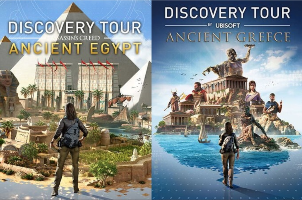 Free guided tours to Ancient Egypt, Greece with Assassin's Creed