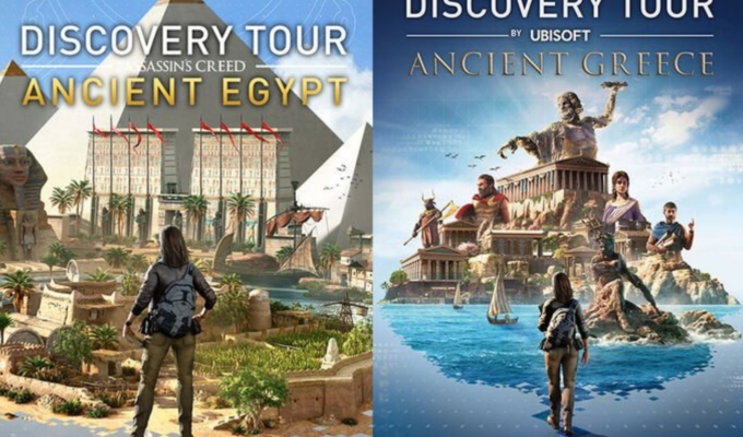 Assassin's Creed educational tours of Ancient Greece and Egypt for free 3