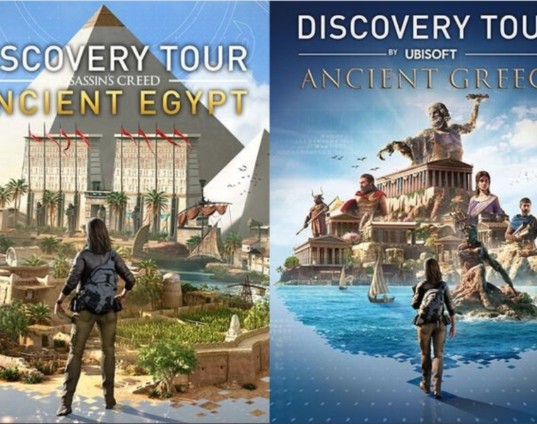 Assassin's Creed educational tours of Ancient Greece and Egypt for free 1