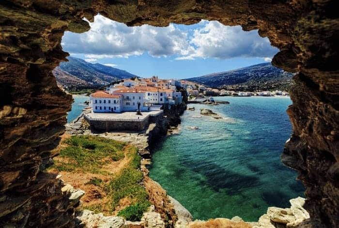 Andros tops the list of Europe's 25 secret islands, The Times reports