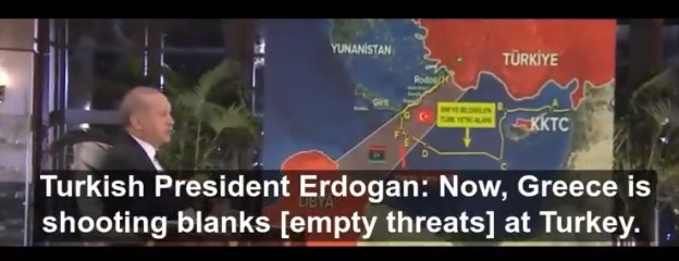 Erdoğan makes new threats against Greece, but acts the victim in latest interview (VIDEO) 7