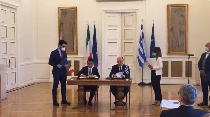 Big day in Greek-Italian relations as EEZ is signed (VIDEO) 17