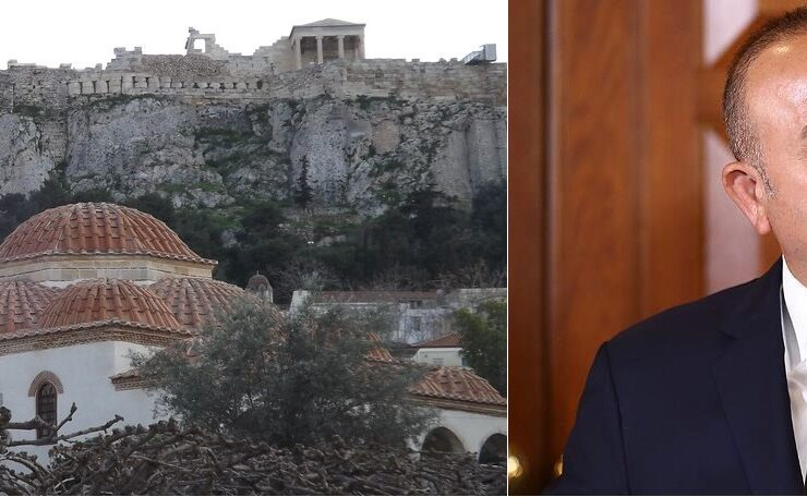 Following Erdoğan's caught out lie, Turkish FM repeats that Athens does not have a mosque 4