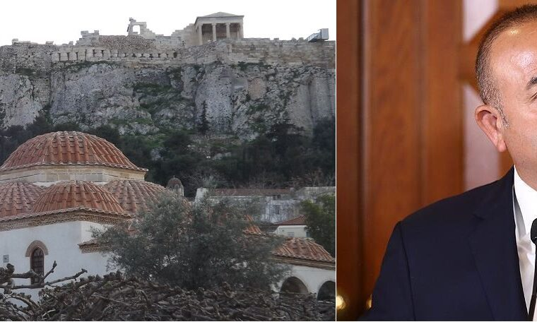 Following Erdoğan's caught out lie, Turkish FM repeats that Athens does not have a mosque 13