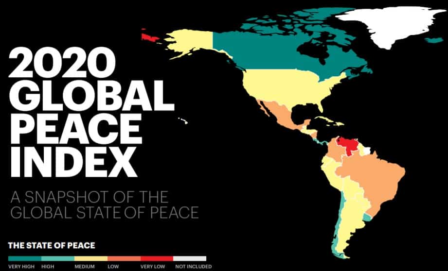 Global Peace Index 2020: Where does Greece and its neighbours rank? 4