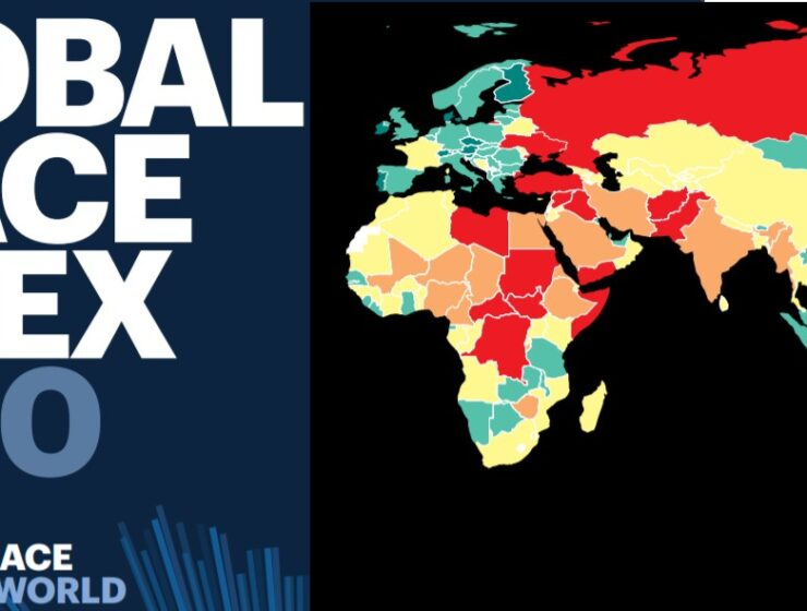 Global Peace Index 2020: Where does Greece and its neighbours rank? 12