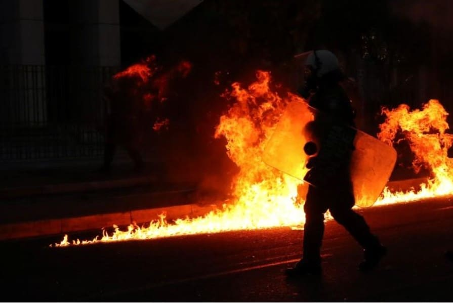U.S. Embassy in Athens firebombed during protest over the death of George Floyd (VIDEO) 7