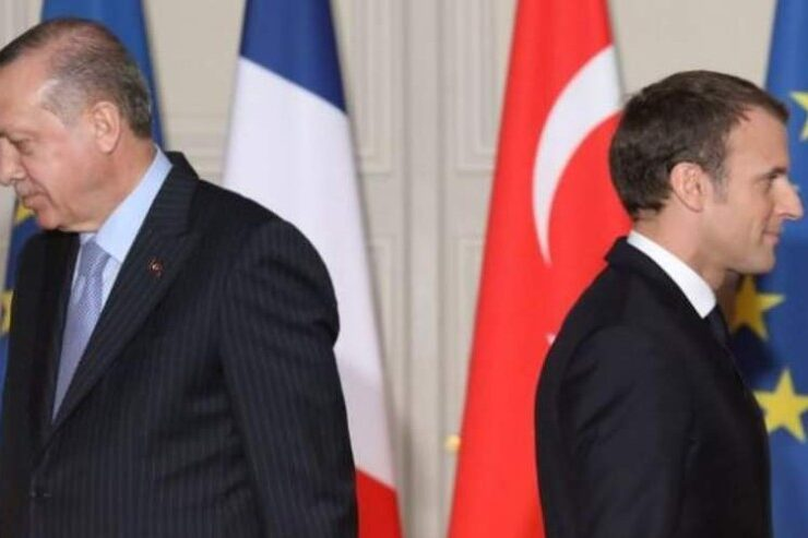 France and Turkey: Trial of strength in the Mediterranean 6