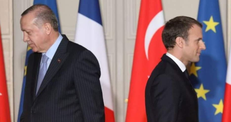 France and Turkey: Trial of strength in the Mediterranean 1