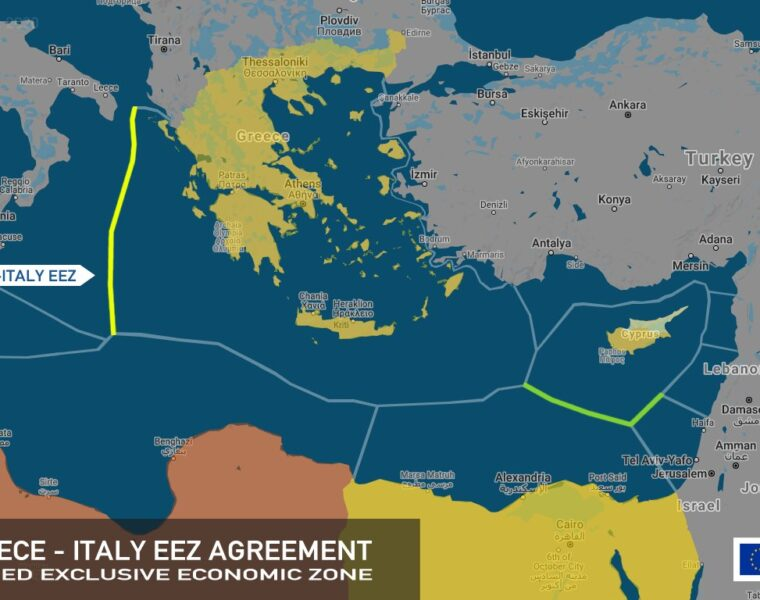 Greek-Italian maritime deal disrupts Turkey's endeavour for East Mediterranean dominance 9