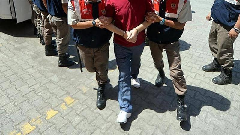 Turkey arrests 191 of their own military personnel on charges of being Gülenists 2