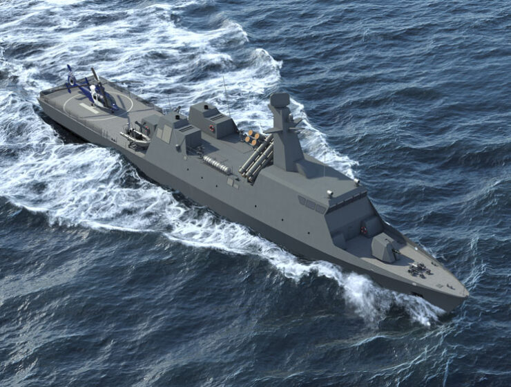 Greek and Israeli shipyards team up to create new Themistocles naval corvette 9