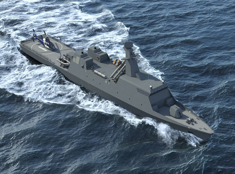 Greek and Israeli shipyards team up to create new Themistocles naval corvette 3