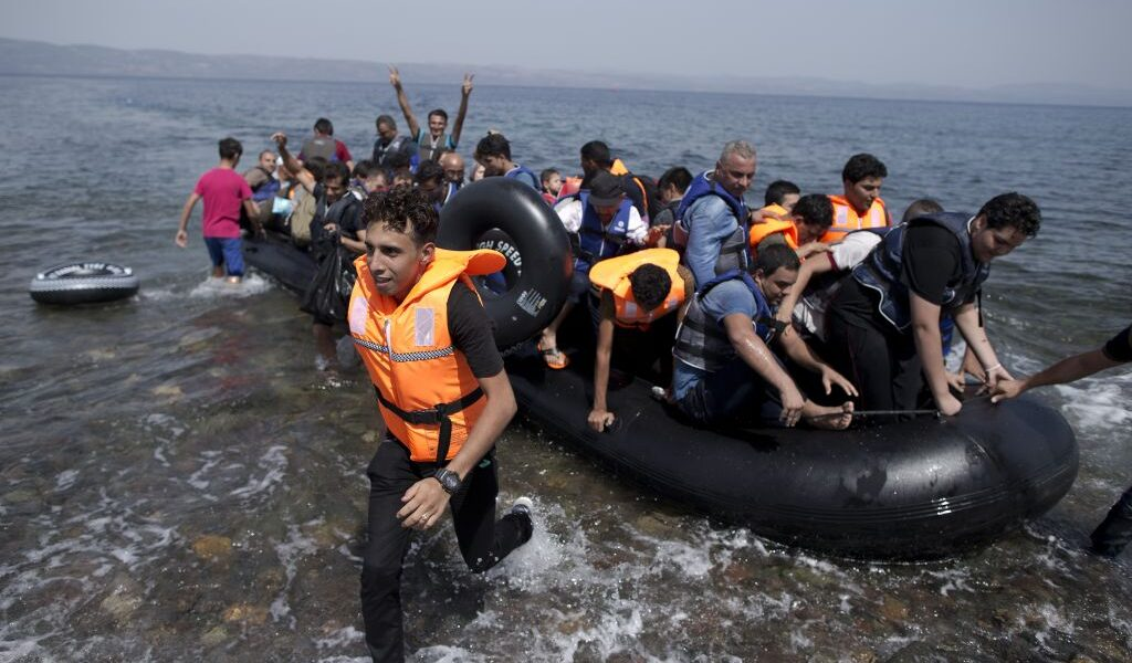 Greek police dismantle human trafficking network in Lesvos operated by German NGO's and others 1