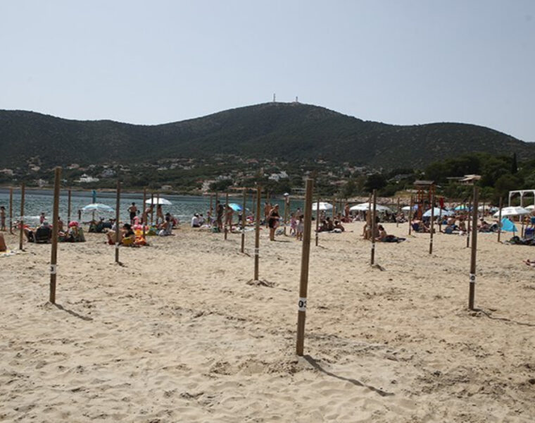 Avlaki beach in Porto Rafti