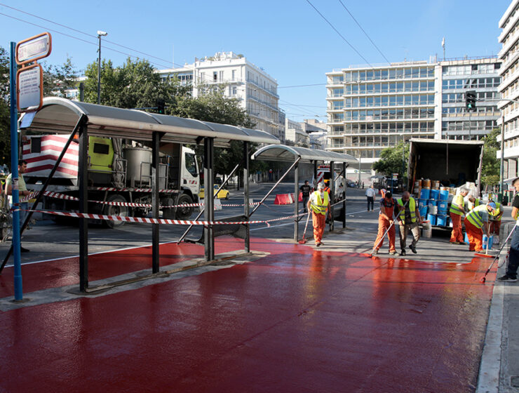 """The Great Walk of Athens"" takes the next step at Syntagma Square 12"