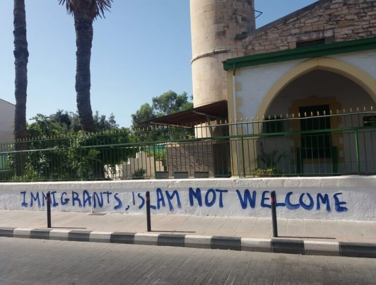 Mosque in Limassol attacked 7