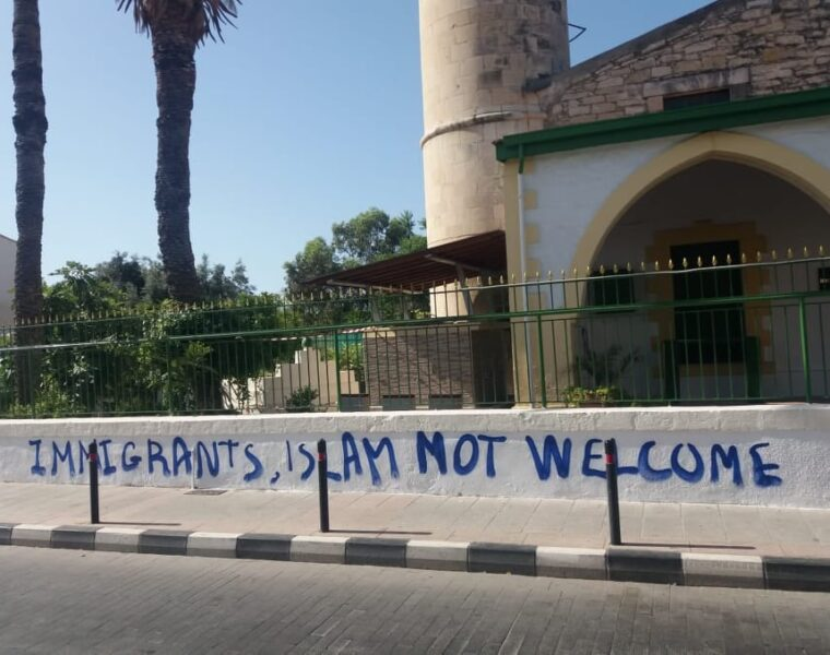 Mosque in Limassol attacked 8