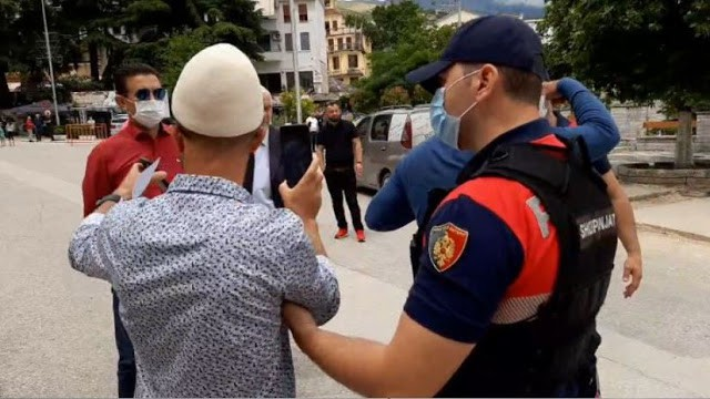 Albanian ultra-nationalists fail to protest at Greek consulate in Northern Epirus