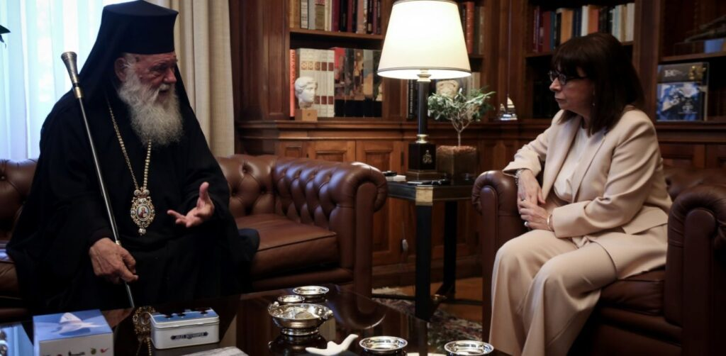 Greek President praises the contribution of the Church in dealing with the pandemic 1