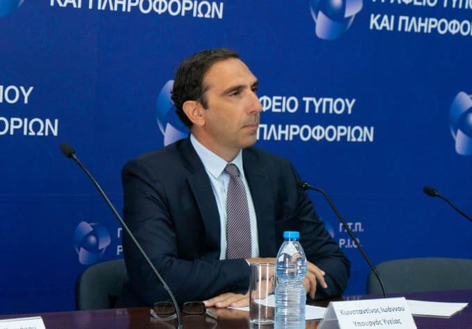 Cypriot Health Minister thanks the 'invisible heroes' on the coronavirus battlefront