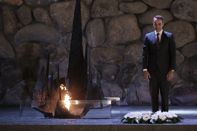 Greek PM honours Holocaust victims