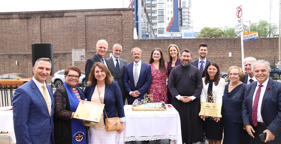 Volunteers at Agios Nectarios Church in Sydney, receive grant for IT upgrade 1