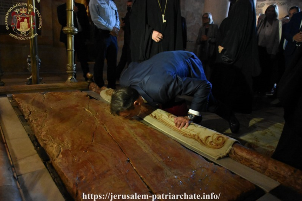 Greek PM visits The Church of the Holy Sepulchre 6
