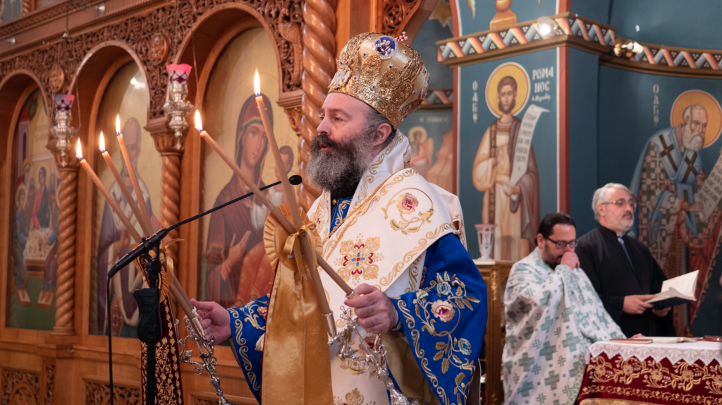 His Eminence Archbishop Makarios: Let us follow God's will, as did the first disciples of the Lord 6