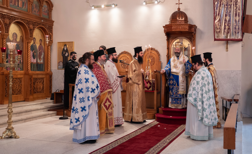 His Eminence Archbishop Makarios: Let us follow God's will, as did the first disciples of the Lord 7