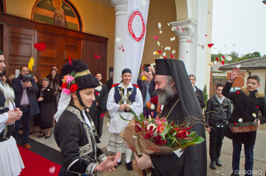 His Eminence Archbishop Makarios: Let us follow God's will, as did the first disciples of the Lord 5