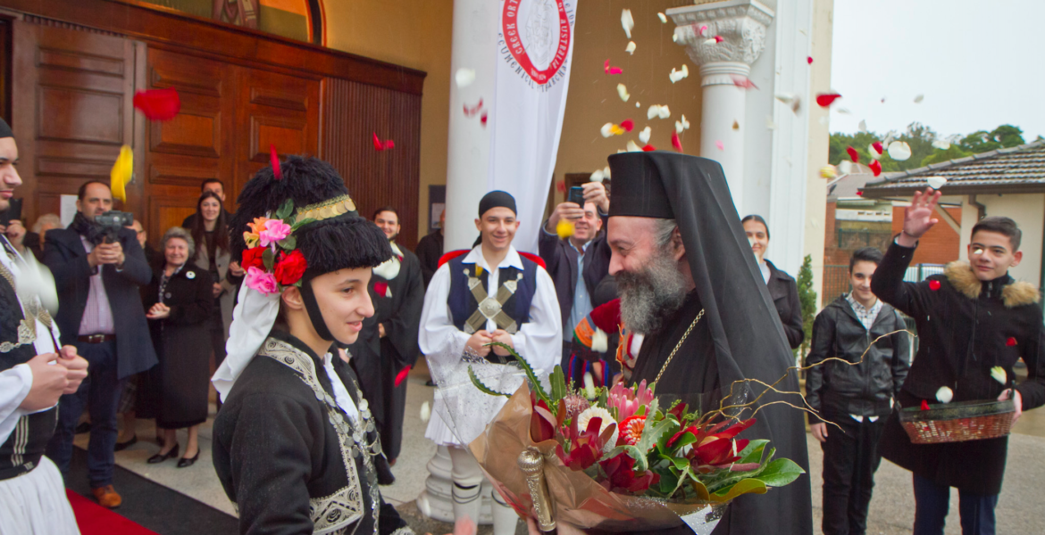 His Eminence Archbishop Makarios: Let us follow God's will, as did the first disciples of the Lord 1