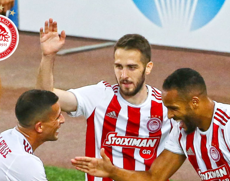 Olympiacos win their 45th Greek Super League title