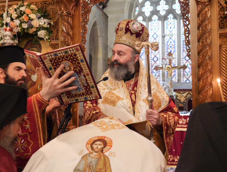 First anniversary of the enthronement of His Eminence Archbishop Makarios