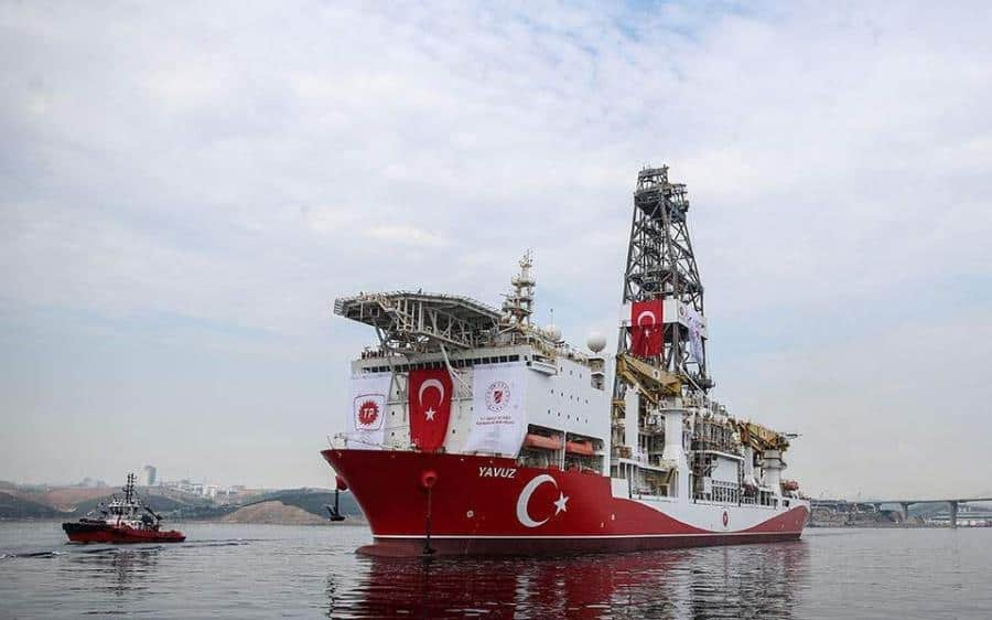 What are the plans to deter Turkey from illegally drilling in Greece's maritime space? 3