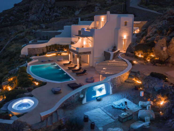 Inside the €1.9m villa for sale in Mykonos 11