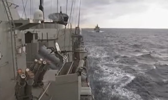Greece conducts naval maneuvers with Cyprus in maritime space that Turkey said it will violate (VIDEO) 1