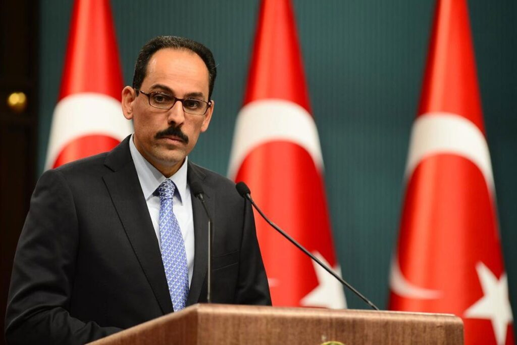 "Erdoğan's spokesman said Greece's reaction to protect its borders was ""excessive"" 2"